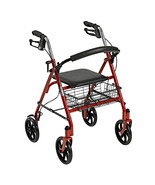 Drive Medical Four Wheel Rollator with Fold Up ... - $80.44
