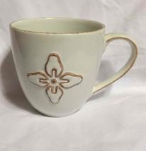 Starbucks Coffee Mug 2008 White Ceramic w/Brown... - $12.16
