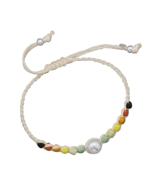 Adjustable Cord Multicolor Bead Fashion Bracele... - $21.00