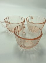 Lot 3 Pink Indiana Glass Recollection Federal M... - $18.46