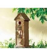 Scrapbook Birdhouse Resin Brown - $14.95