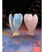 Cherub Angel Gemstone Figurine of Love Miracles... - $59.99