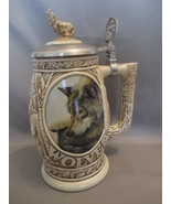 Stunning Wolves Stein by Ceramarte Brazil  for ... - $12.99