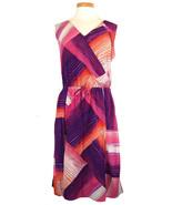 DKNY Jeans Womens Dress Sleeveless Printed Pink... - $59.40