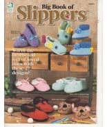 Big Book of Slippers Crochet Patterns 27 Patter... - $4.99