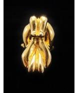 HUGE Vintage JUDITH LIEBER Gold Buckle Statemen... - $142.50