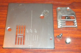 Wards UHT J2000 Free Arm Zig Zag Throat Plate &... - $12.50