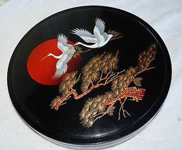 large Japanese Japan round food dish serving co... - $34.64