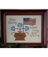 Olde Glory cross stitch chart Legacy Patterns   - $9.00