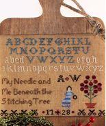 Stitching Tree cross stitch chart Legacy Patter... - $9.00