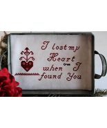Lost and Found cross stitch chart Legacy Patter... - $7.20