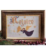 Rejoice cross stitch chart Legacy Patterns   - $7.20