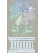 Patchwork Flower cross stitch chart Northern Ex... - $9.00