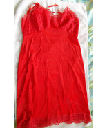 Vtg. Bright Red Hollywood Vassarette by Munsing... - $34.60