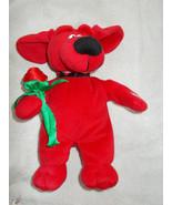 MTY International Singing Dancing Red Dog w/ Ro... - $23.76