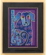 Bloomingtails dog aida cross stitch kit Laurel ... - $16.20