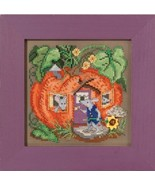 Mouse House Autumn Harvest Mill Hill 2016 Butto... - $12.60