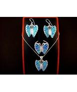 925 Silver Earrings Pendant Ring Set Hawaiian O... - $79.00