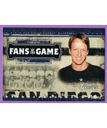Tony Hawk 2005 Playoff Prestige Fans of the Gam... - $4.00