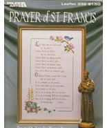 Prayer of St. Francis Cross Stitch Pattern Simp... - $3.99