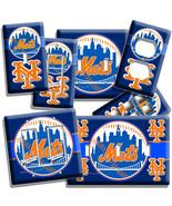 NEW YORK METS BASEBALL TEAM LIGHT SWITCH OUTLET... - $7.99 - $15.99