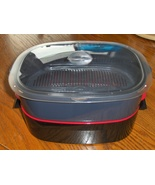 Tupperware Stack Cooker Microwave Cookware Stea... - $42.97