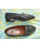 Etienne Aigner 9M Blue Tasseled Loafer Leather ... - $20.79