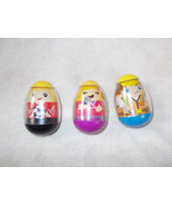 3 Weebles Wobble Blond Soccer Player, Ice Cream... - $13.86