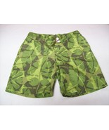 J Crew Mens Board Shorts Swimwear Green Swimsui... - $13.37