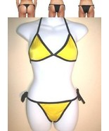 Bikini Yellow 2 piece women two-piece swimsuit ... - $14.95