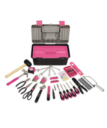 Pink Home Hand Hardware Tool Box Storage Kit Se... - $89.95
