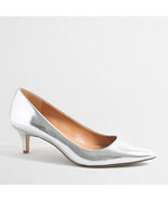 J Crew Factory Silver Pump Size 7.5 - $50.00
