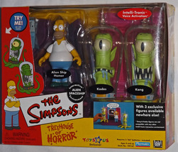 2001 The Simpsons Tree House Of Horror #2, Toys... - $44.95