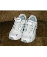 Vionic Orthaheel Walker White Tennis Shoes Trip... - $34.97