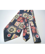 Florence & K Necktie mens designer fashion gray... - $11.39