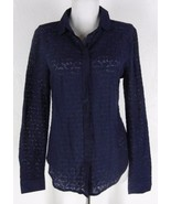 New ANN TAYLOR LOFT Sheer Floral Lace Blouse To... - $29.99
