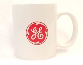 GE - GENERAL ELECTRIC CERAMIC WHITE MUG WITH RO... - $13.89