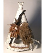 Native People Natural Wonders Hand Made Teepee ... - $18.00