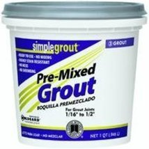 Custom PMG09QT 1-Quart Simple Premium Grout, Na... - $7.27