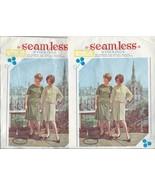 Seamless Nylon Stockings 2 pairs Size 9 Beige 1... - $9.97
