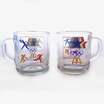 1984 OLYMPICS MCDONALDS COFFEE MUGS ANCHOR HOCK... - $12.34