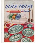 Quick Tricks in Crochet Vintage Crochet Pattern... - $5.99