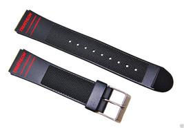 19mm Timex Triathlon Black Replacement Watch ba... - $10.29