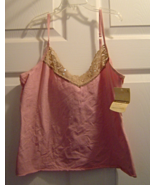 Women's Size L Secret Treasures Camisole Shirt ... - $4.99