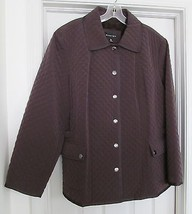 BRAETAN Plus Size 100% Polyester Quilted Jacket... - $54.97