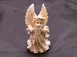 Beautifully Detailed Winged Angel Porcelain Fig... - $29.95