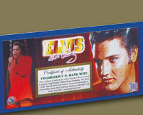 Image 1 of Elvis American Legends $2 Bill Uncirculated