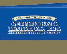 Image 3 of Elvis American Legends $2 Bill Uncirculated