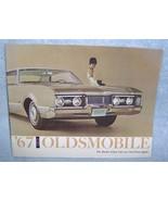 1967 Oldsmobile Brochure The Rocket Action Cars... - $14.99