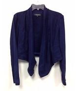 New Level 99 Anthropologie Dark Blue Long Colla... - $27.44